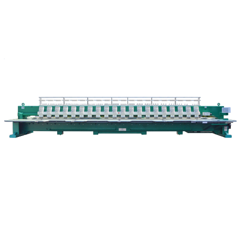 20 heads flat embroidery machine